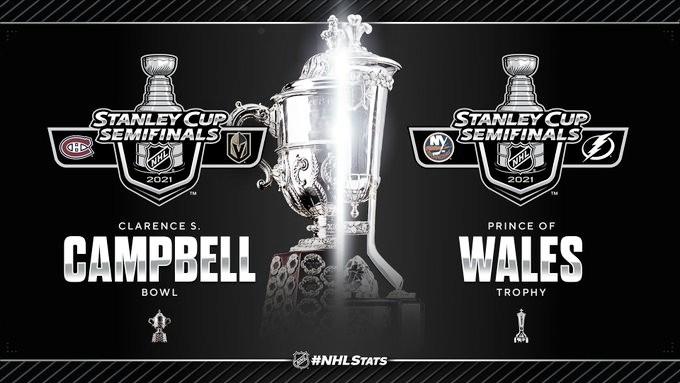 La NHL entregará trofeos a los vencedores de las semifinales