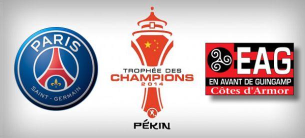 Trophée des Champions : Paris en favori