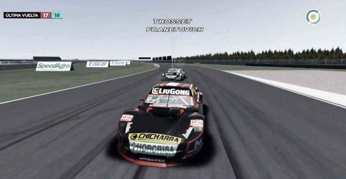 Trosset continúa como líder de la copa Virtual