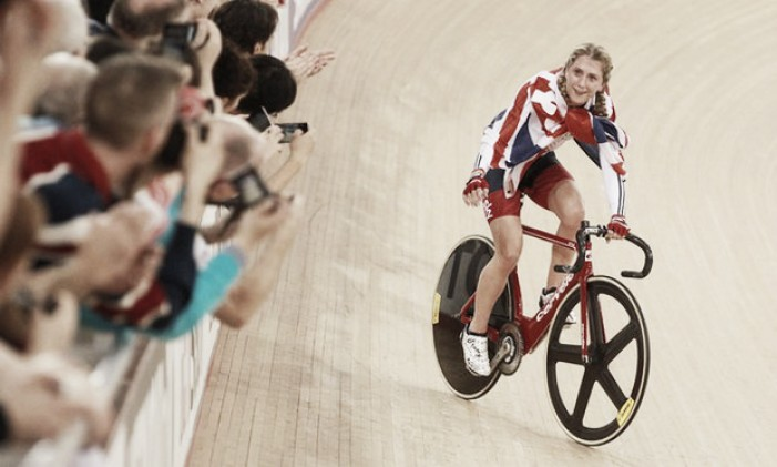 Laura Trott delighted with Omnium gold