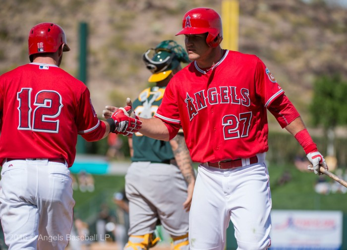 Los Angeles Angels Get First Spring Training Victory, Defeating Oakland Athletics