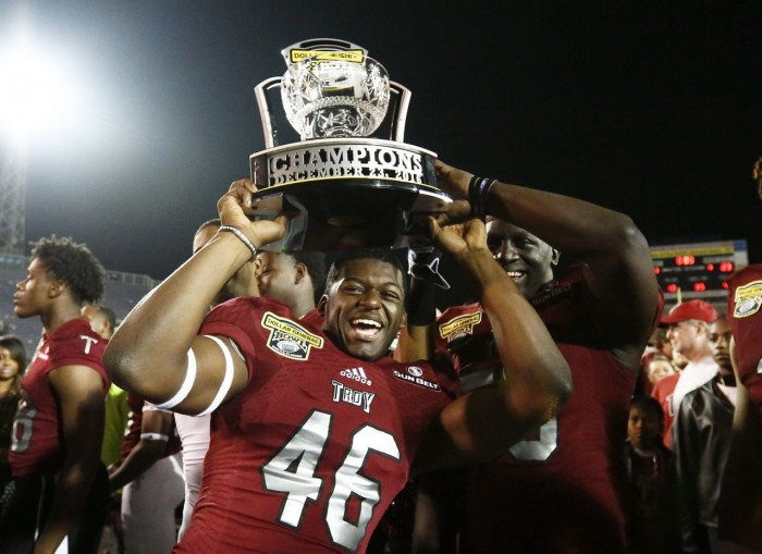 Troy Trojans defeat Ohio Bobcats 28-23 in Dollar General Bowl