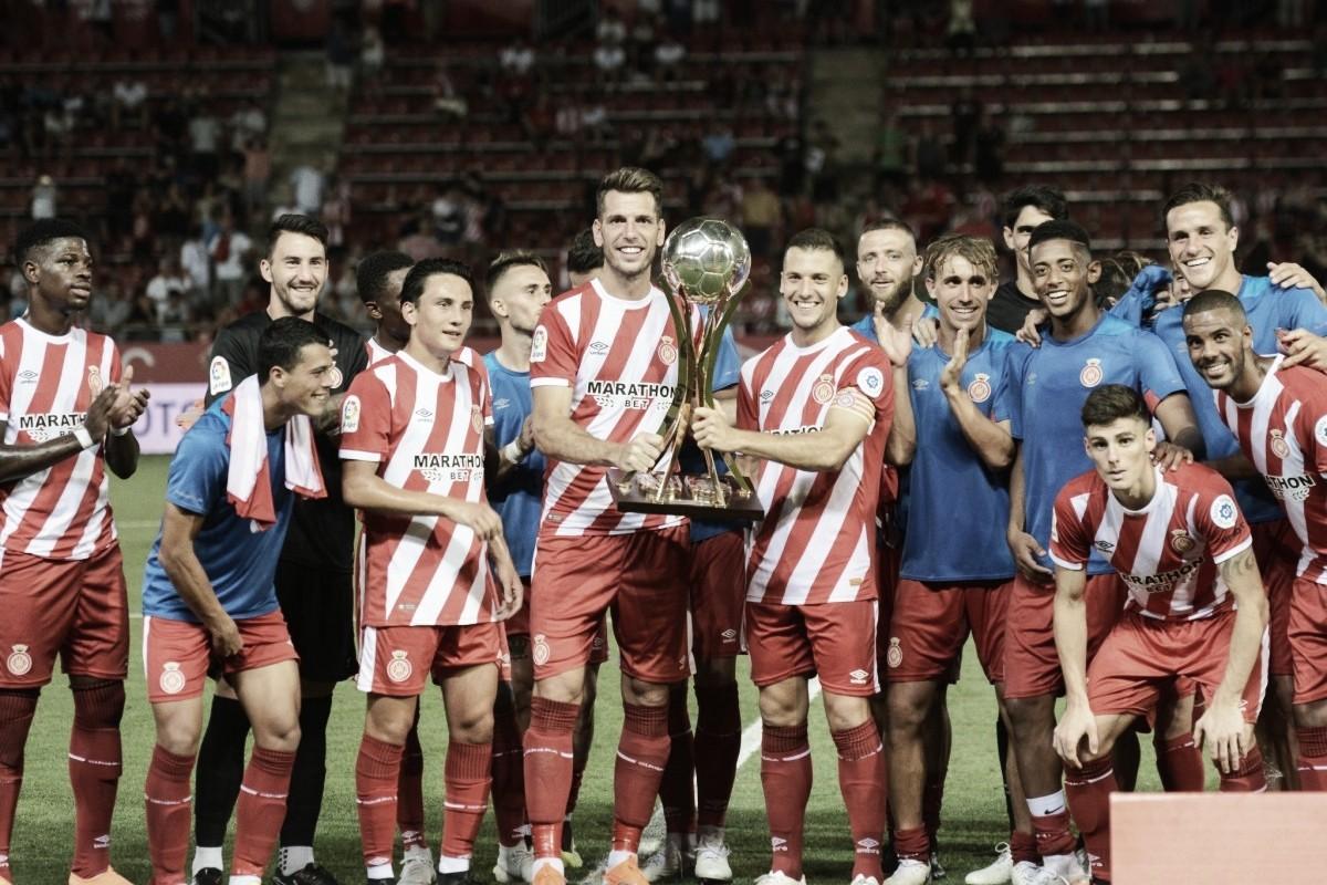 El Girona se lleva el Trofeo Costa Brava en su estreno en casa