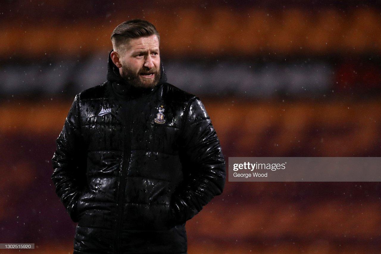 Cheltenham Town 0-2 Bradford City: Cook brace sinks Robins impressive league run