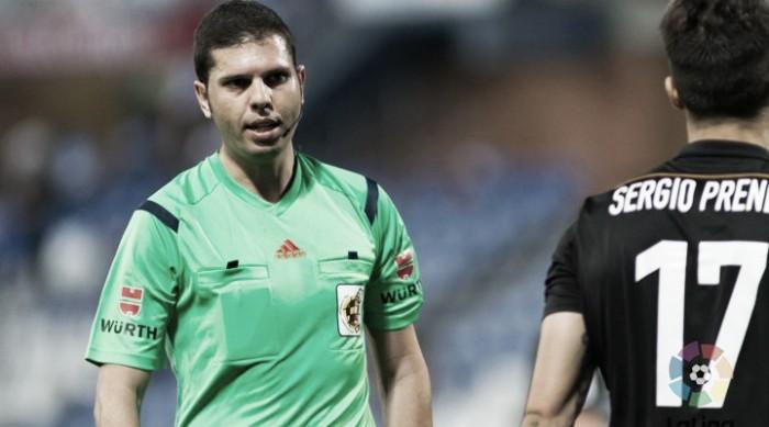 Trujillo Suárez, otro debutante arbitrando al Celta