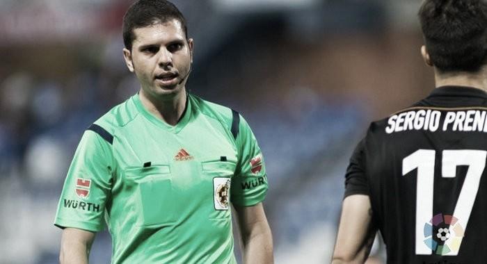 Trujillo Suárez, árbitro designado para el Málaga-Leganés