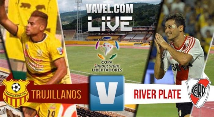Resultado Trujillanos 0 - 4 River Plate por la Copa Libertadores 2016