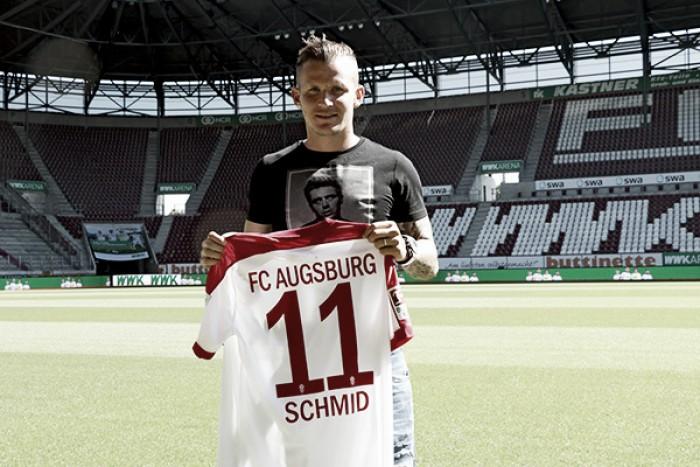 Augsburg fecha contratação do meia-atacante Jonathan Schmid, ex-Freiburg