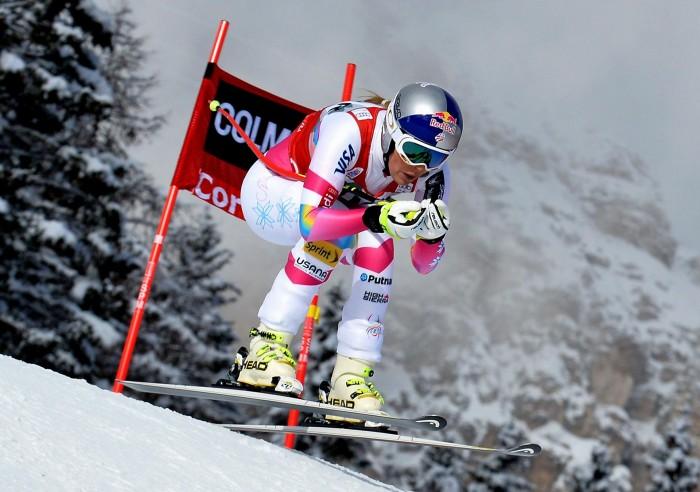 Lindsey Vonn sul tetto del mondo anche in Super G e in classifica generale