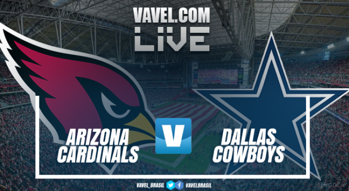 Resultado Dallas Cowboys vs Arizona Cardinals na abertura da pré-temporada da NFL (20-18)