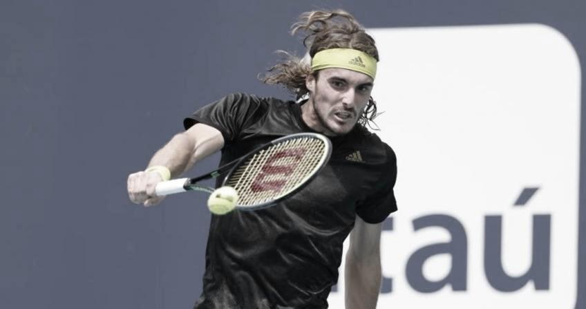 Tsitsipas confirma favoritismo e passa por Sonego no Masters 1000 de Miami