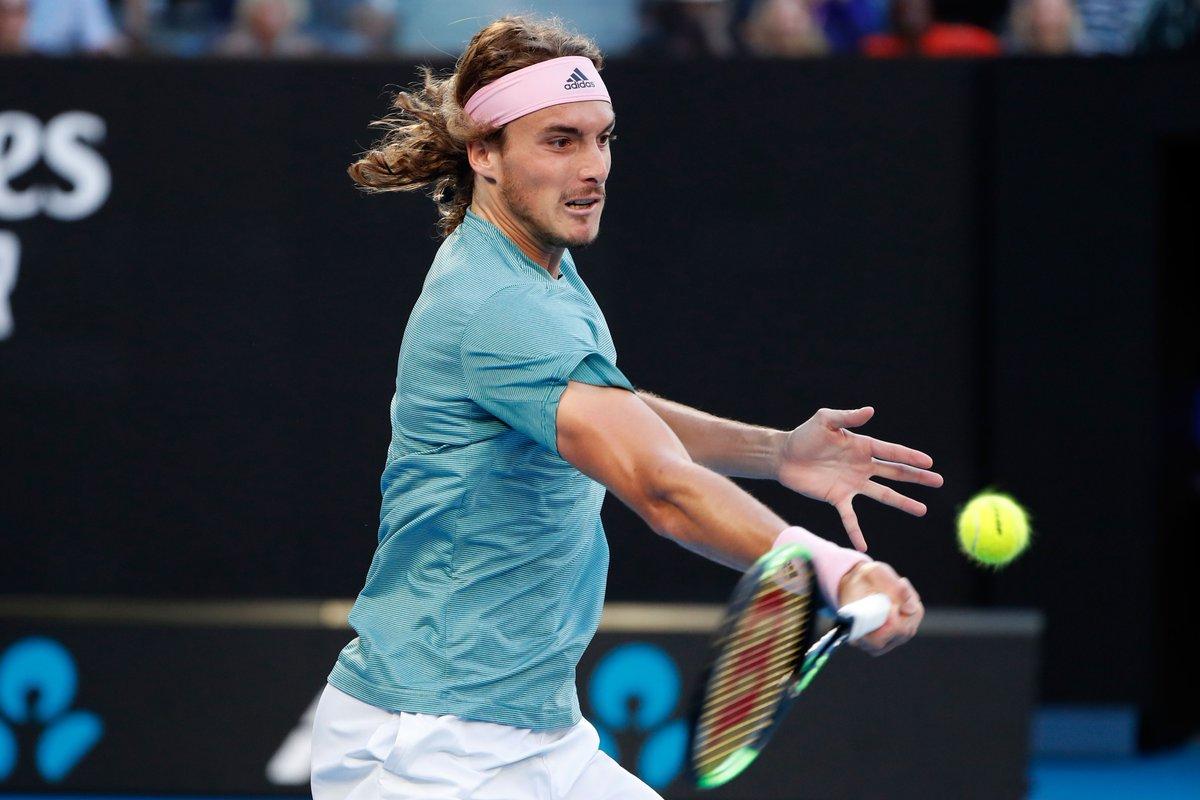 Australian Open- Miracolo Tsitsipas! Battuto Federer e primo quarto di finale slam conquistato