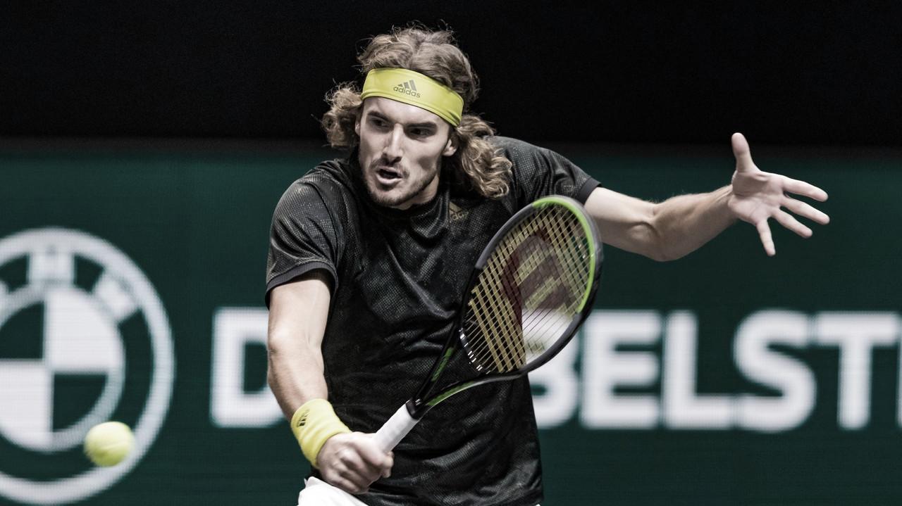 Tsitsipas vira sobre Khachanov e vai à semifinal do ATP 500 de Roterdã