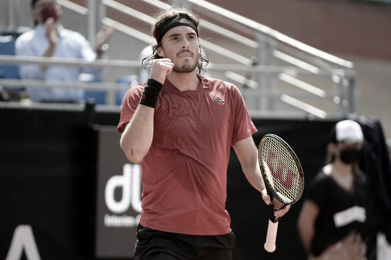 Tsitsipas vence Nishioka e é semifinalista do ATP 250 de Lyon