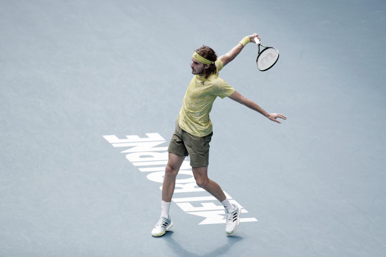 Tsitsipas supera Kokkinakis em longa batalha de cinco sets no Australian Open