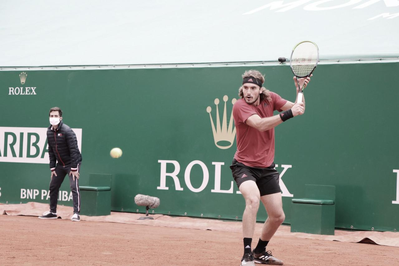 Davidovich Fokina abandona após primeiro set, e Tsitsipas segue às semis em Monte Carlo