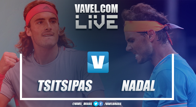 Tsitsipas vence Nadal na semifinal do Masters 1000 de Madrid (2-1)