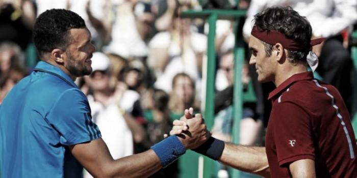 Tsonga venció a Federer y está en semifinales