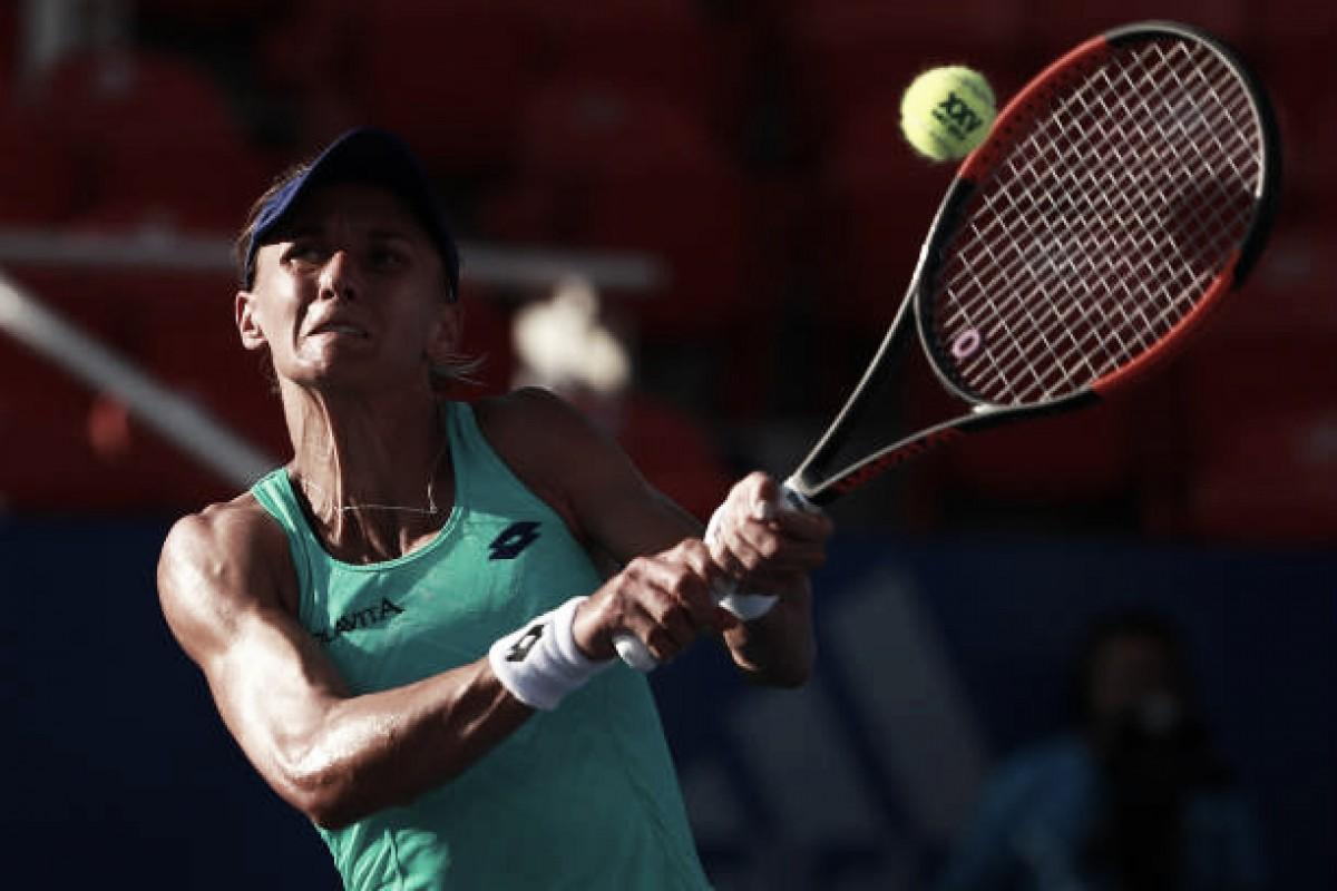 Tsurenko e sensação do torneio vencem em sets diretos decidem o título em Acapulco