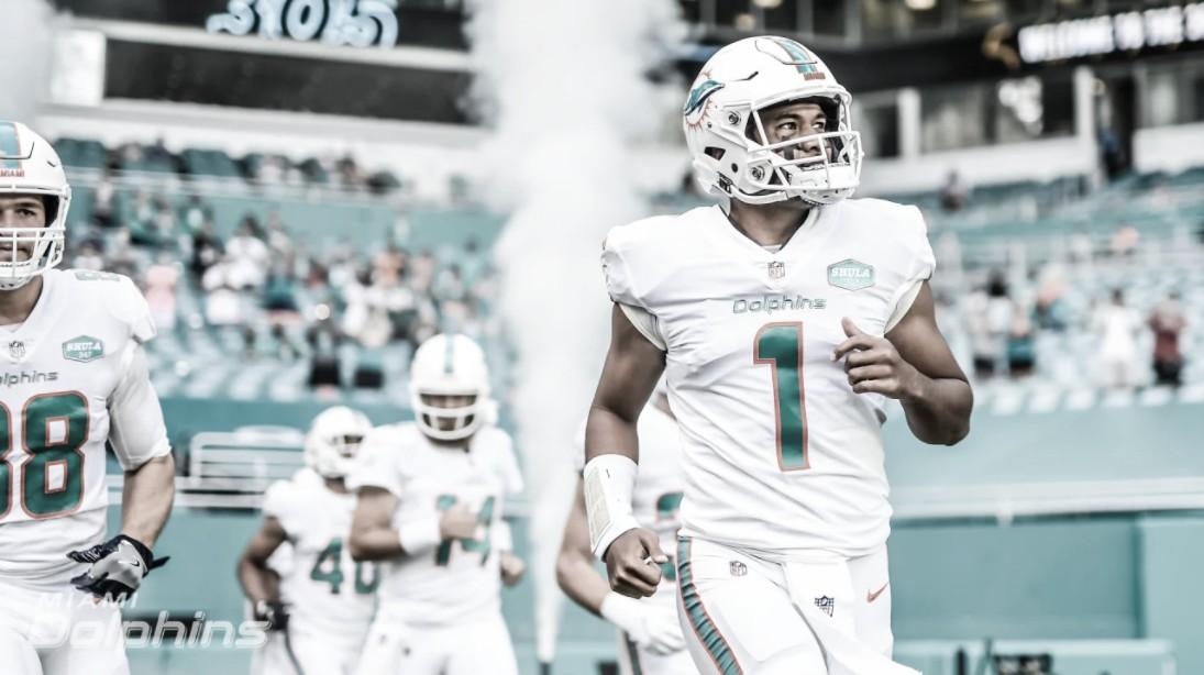 Estreia com vitória de Tua e atropelo dos Seahawks: os jogos da tarde de domingo na NFL