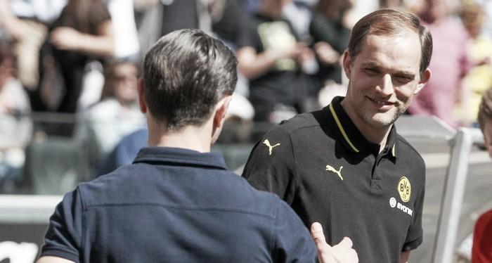 """Tuchel lamenta derrota do Dortmund contra Frankfurt: """"Não jogamos na fase inicial da partida"""""""