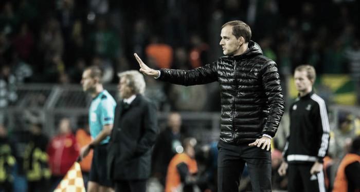 """Thomas Tuchel celebra vitória diante do Sporting: """"Tive que respirar fundo"""""""