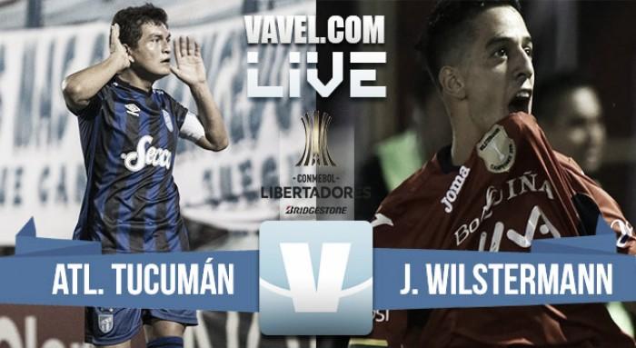 Resultado Atlético Tucumán vs Wilstermann por Copa Libertadores 2017 (2-1)