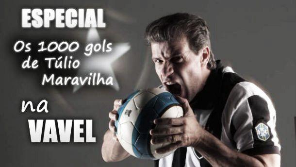 Tras Pelé y Romario, Túlio 'Maravilha' alcanza los mil goles