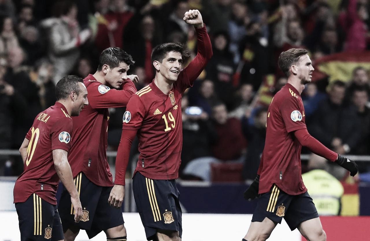 España 5-0 Rumanía: Gerard Moreno dirige la fiesta en el Wanda Metropolitano