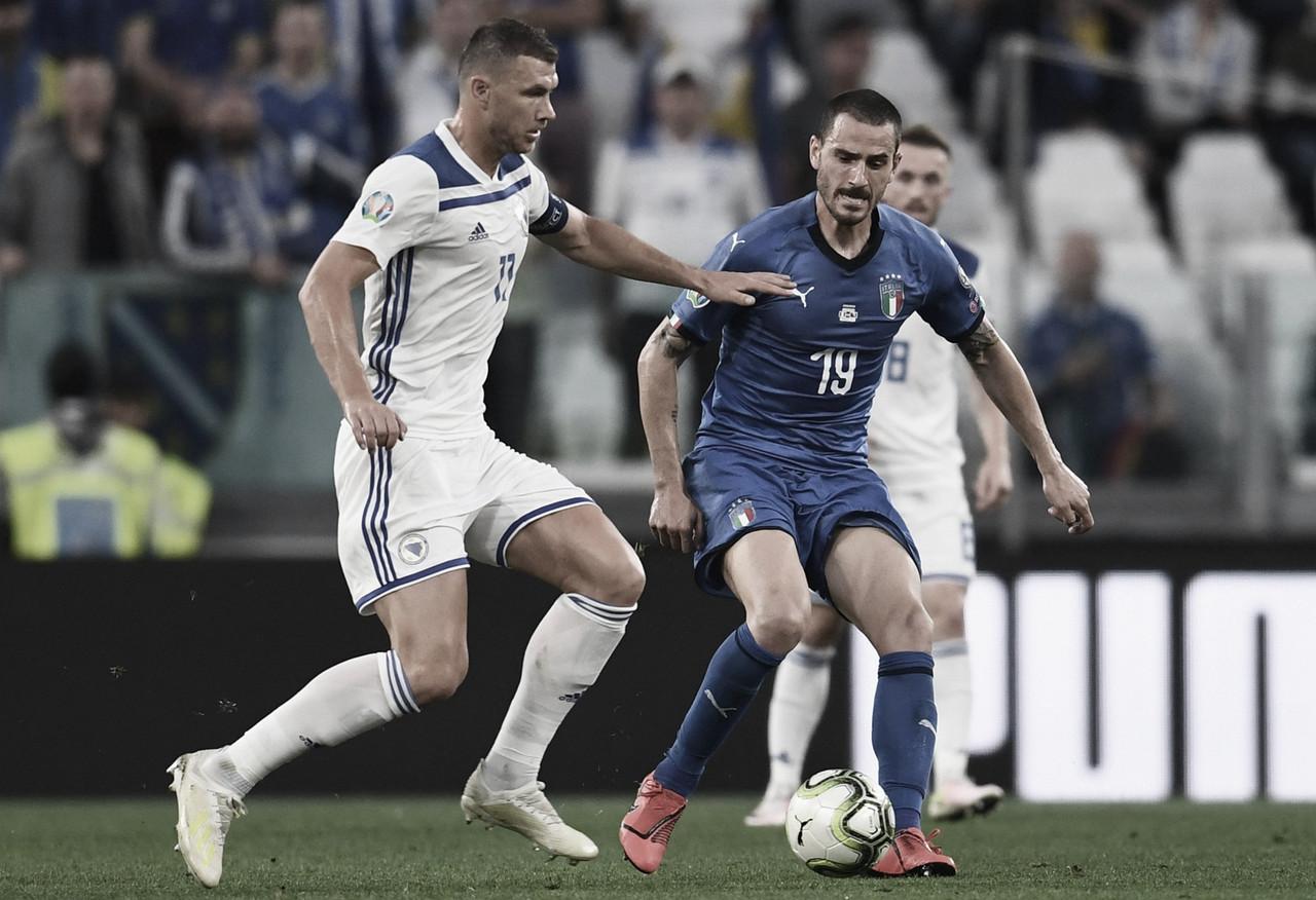 Melhores momentos Bósnia x Itália pelas Eliminatórias da Euro 2020