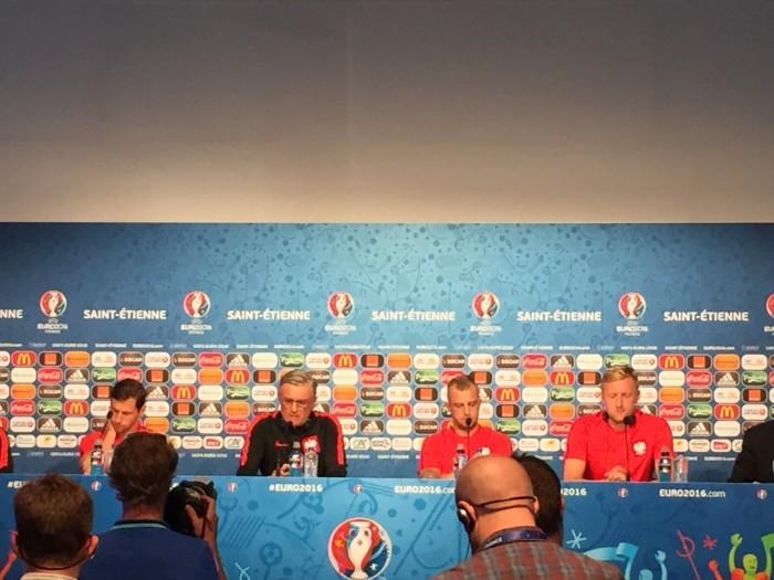 """Polonia, Nawałka in conferenza: """"Ci sentiamo pronti per affrontare la battaglia con la Svizzera"""""""