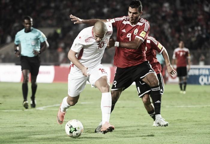 Tunísia apenas empata com Líbia dentro de casa, mas garante vaga na Copa da Rússia