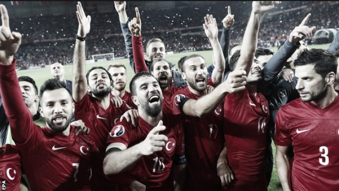 How did Turkey qualify for the Euros?