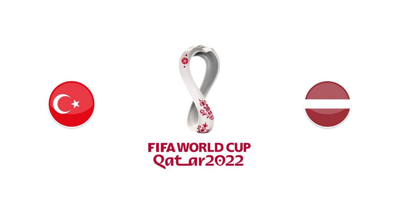 Resumen y mejores momentos del Letonia 1-2 Turquía en Eliminatorias Qatar 2022