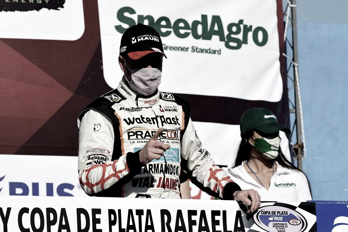 Ledesma fue el legítimo vencedor del TC en Rafaela