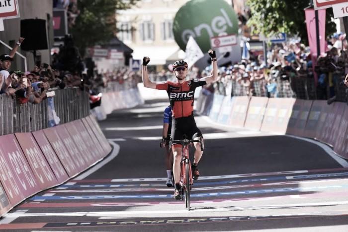 Giro d'Italia numero 100, 15esima tappa: Bob Jungels vince a Bergamo