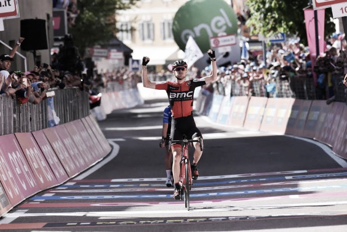 Giro d'Italia: Jungels vince 15esima tappa, Dumoulin resta in rosa