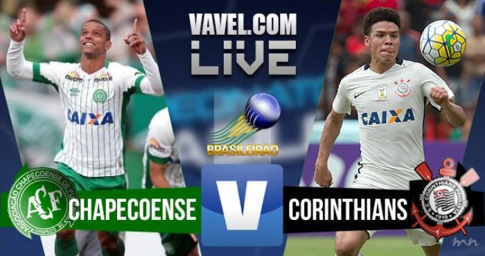 Resultado Chapecoense x Corinthians pelo Campeonato Brasileiro 2016 (0-2)