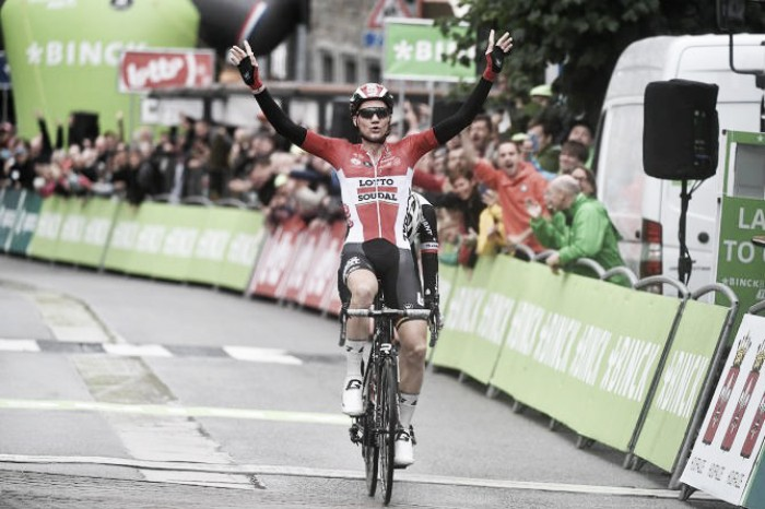 Binck Bank Tour 2017: Wellens conquista Houffalize, Dumoulin nuovo leader