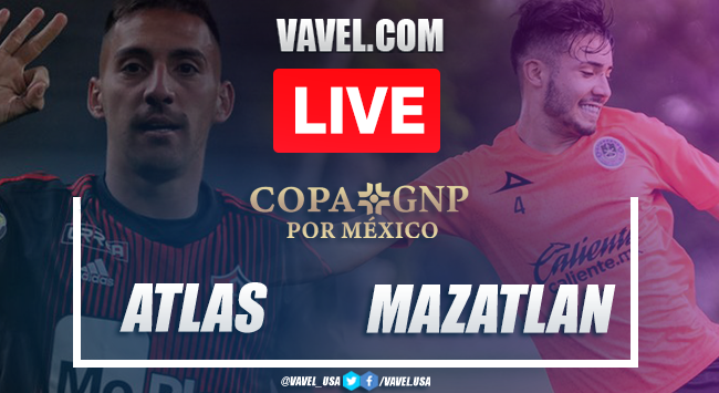 Atlas 1-0 Mazatlán: Summary and goal of the match