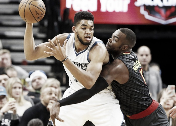 Minnesota Timberwolves pick up 10th win of season over Atlanta Hawks