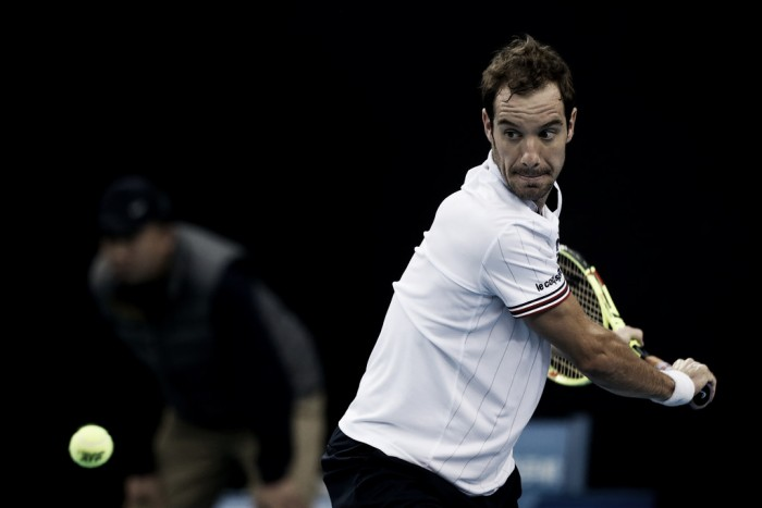 ATP Antwerp: Richard Gasquet secures his place in the final with a comeback win over Kyle Edmund