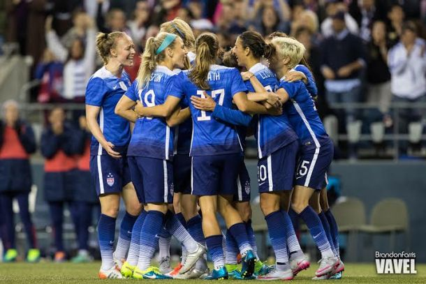 USWNT Gut Out Gritty 1-1 Draw Against Brazil