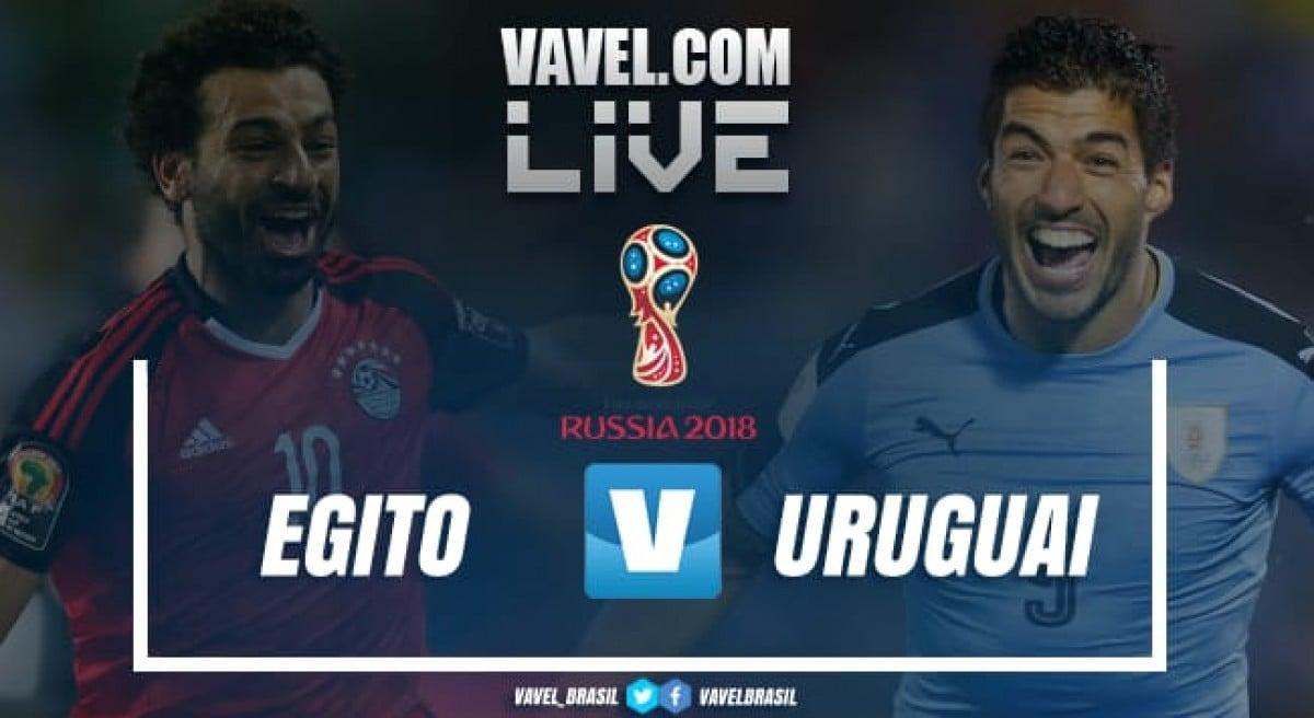 Resultado de Egito e Uruguai pela Copa do Mundo 2018 (0-1)