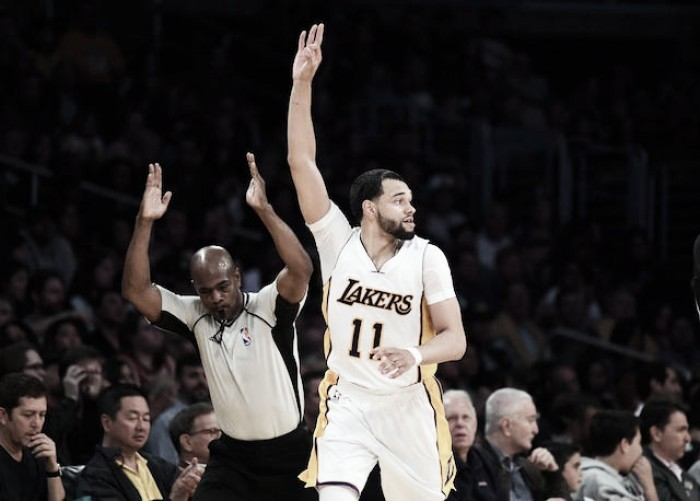 Tyler Ennis will return to the Los Angeles Lakers