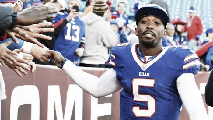 Bills renovam contrato com quarterback Tyrod Taylor por mais seis anos e $90 milhões