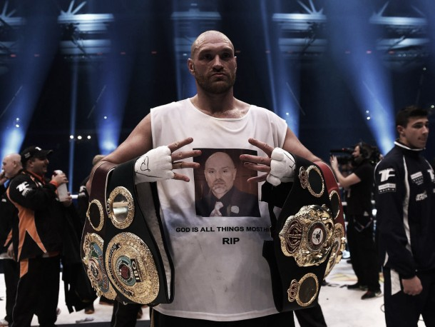 Boxer Tyson Fury Stripped Of Title, Investigated By Police