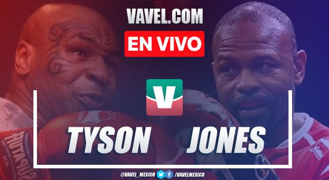Resumen y mejores momentos pelea Mike Tyson vs Jones Jr. 2020