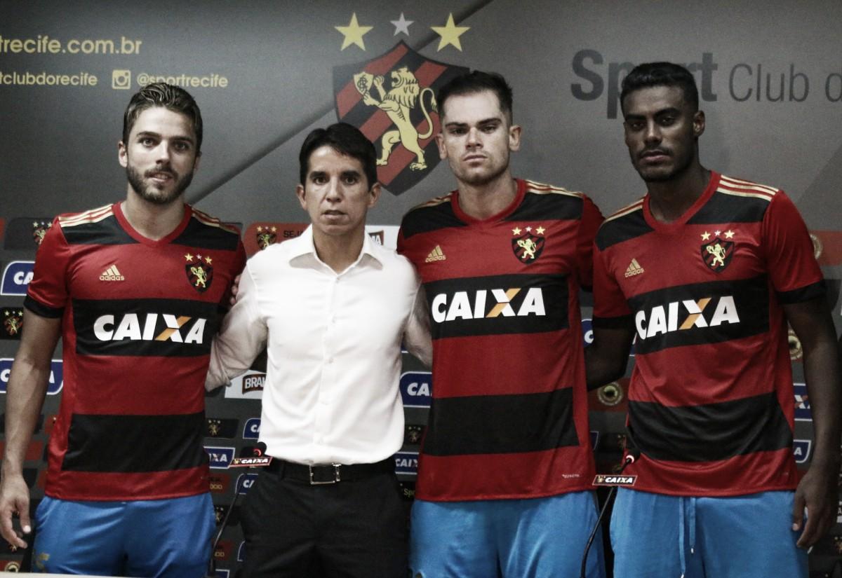 Sport oficializa as contratações de Cláudio Winck, Max e Ferreira