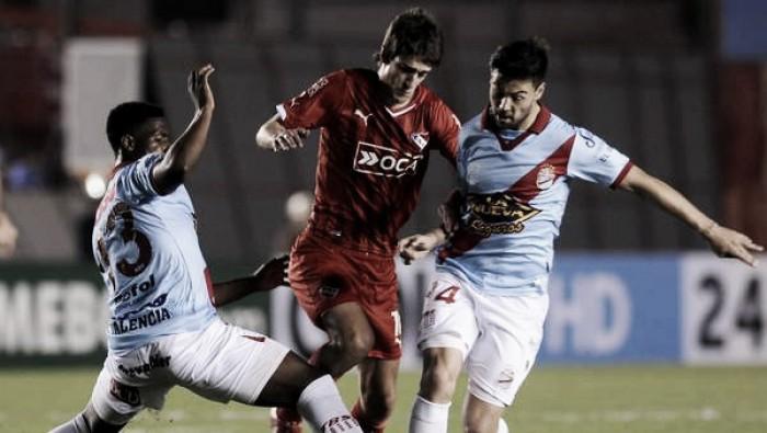 Historial ante Independiente